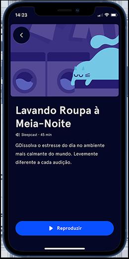 Capture d'écran application Headspace
