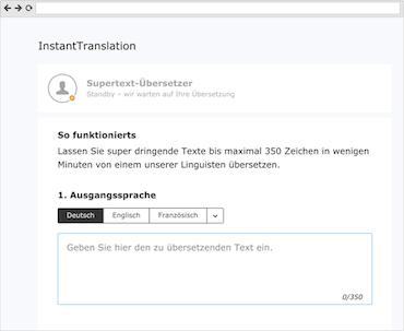 Supertext InstantTranslation